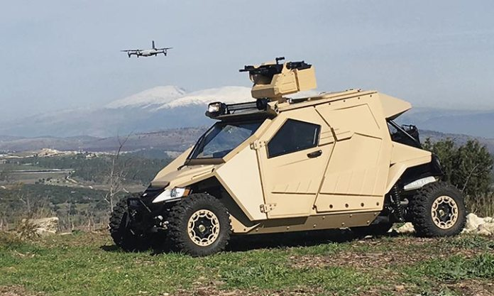 Yagu An Ultralight Special Ops Armored Vehicle Defense