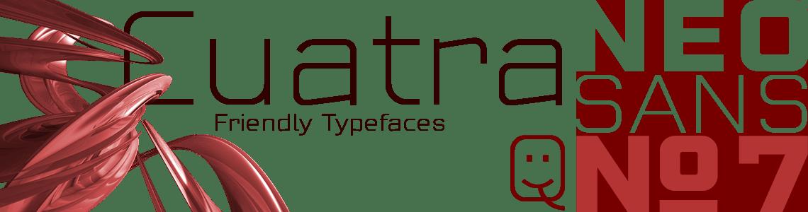 Cuatra Neo Sans Nº7 - Minimal font Style