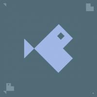 El pececito, asado de pez y tipografía