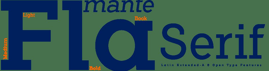 Flamante Slab Serif Typeface Family