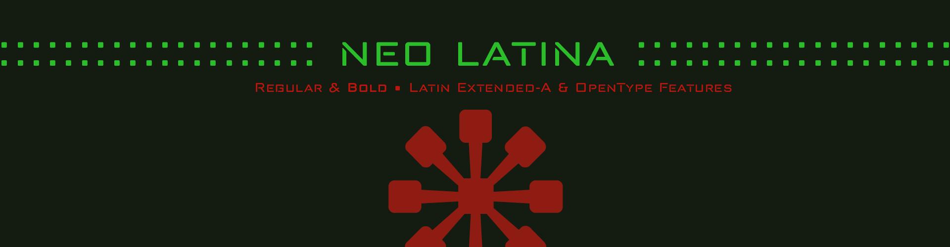 Neo Latina - Futurist Fonts