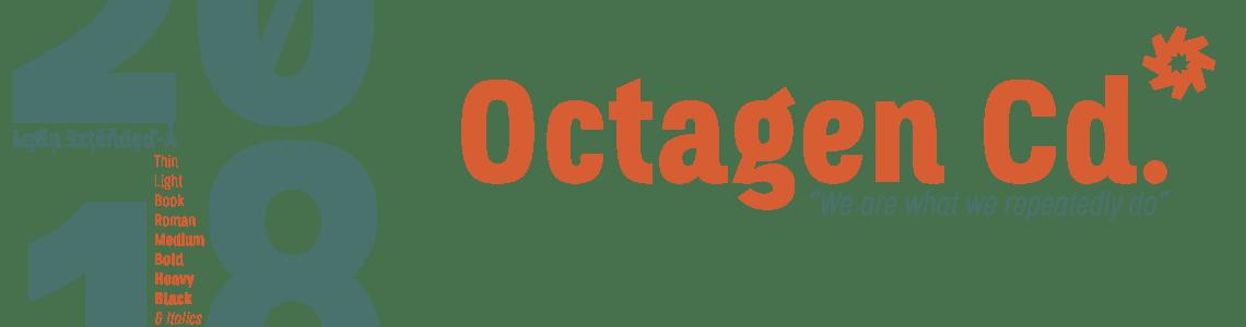 Octagen Condensed Fonts. Neo Grotesk 2018