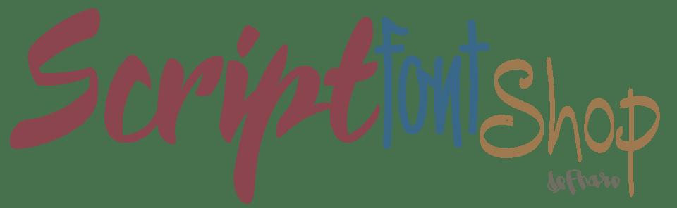 Script Font Shop by deFharo