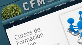 Página web realizada para academia de formación en Maspalomas