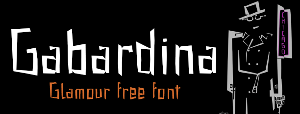Gabardina: Fuente 100% gratis