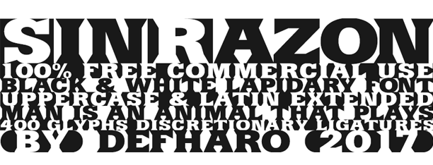 SinRazon: Fuente 100% gratis