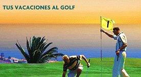 Claim de marca y eslogan de publicidad para golf en Canarias