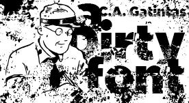 Fuente tipográfica grunge gratis para bajar