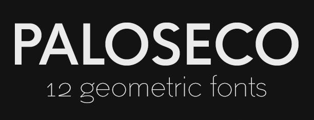 Paloseco Sans & Geo-Grotesk