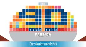 Claim e ilustración 90 aniversario Partida Algeciras