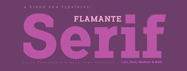 Flamante Serif Family