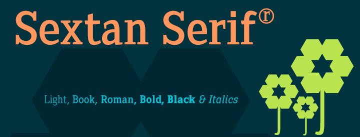 Sextan Serif Fonts