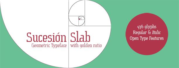Sucesión Slab -2x1 Fonts-