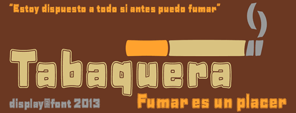 Tabaquera: Fuente 100% gratis