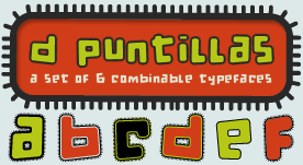 d puntillas por la tipografía