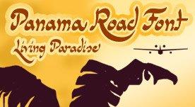 Panama Road -Script font-