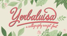 Fuente caligráfica gratis para descarga