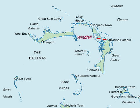 The northern Bahamas