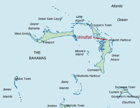 The northern Bahamas