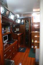 interior shot-saloon - ship/crew page