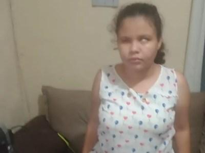 Ana Carolina precisa urgentemente de prótese para não ter infecção no olho — Foto: Arquivo Pessoal