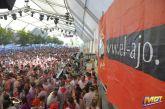 """Festival Tent Peña El Ajo - Teruel during """"Vaquillas"""""""