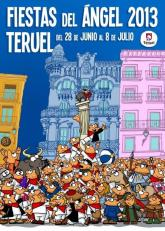 "Poster advertising the Festival of ""Vaquillas"" in Teruel"