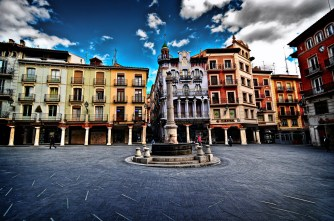 El Torico Square - historical centre of Teruel