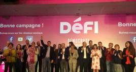 Congrès DéFI Bruxelles : Les têtes de liste ont été dévoilées