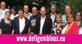 DéFI Gembloux a présenté ses candidats