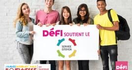 Journée internationale de la jeunesse : DéFI en faveur du développement duService Citoyen