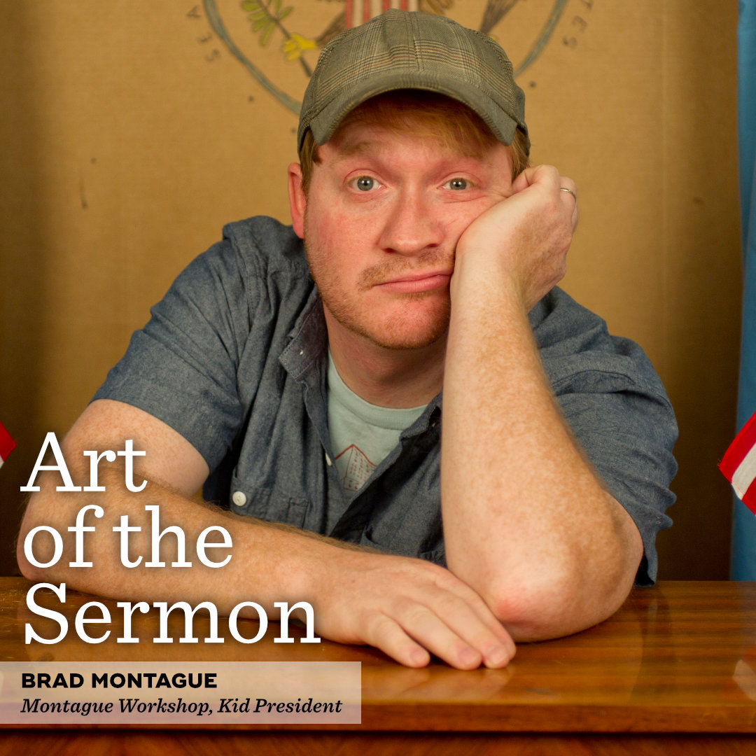 36: Love, Joy, Creativity, and Space Jam – An Interview with Brad Montague – Art of the Sermon