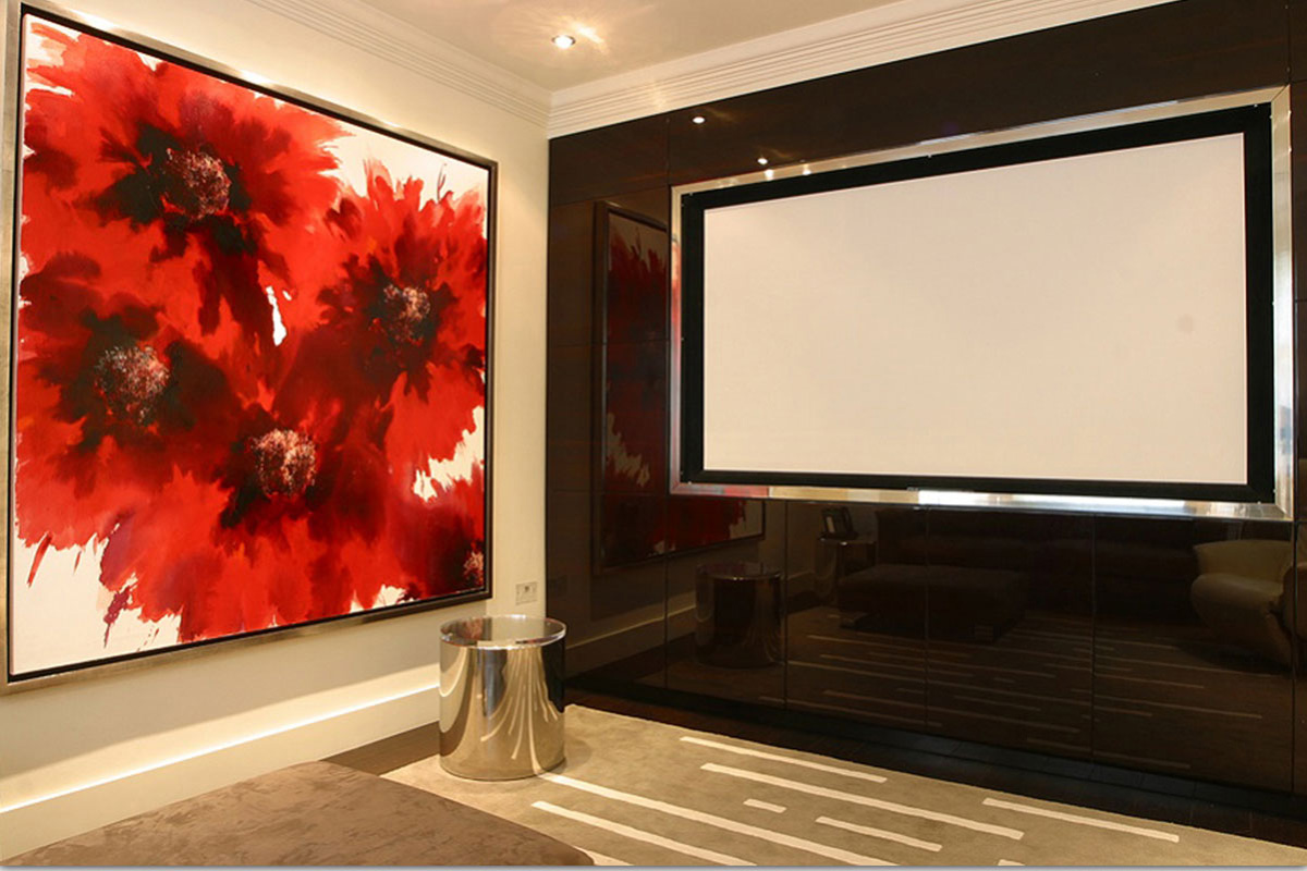 Cinema Rooms And Tv Wall Bespoke Case Study  Definitive1