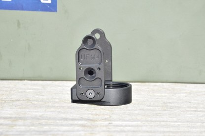 Definitive Arms UFM4 stock adapter for AKMS pattern underfolder AK firearms.