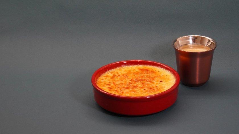 Crème brûlée Cyril Lignac