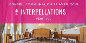 Interpellations du conseil communal du 29 avril 2019