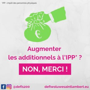 Pour Ecolo, il faut augmenter les additionnels à l'IPP