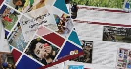 Une brochure pour découvrir l'enseignement communal