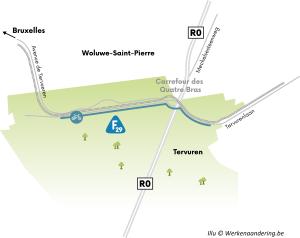 Non à la réduction de l'avenue de Tervueren aux Quatre Bras
