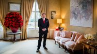 Koning ontvangt Tweede Kamervoorzitter