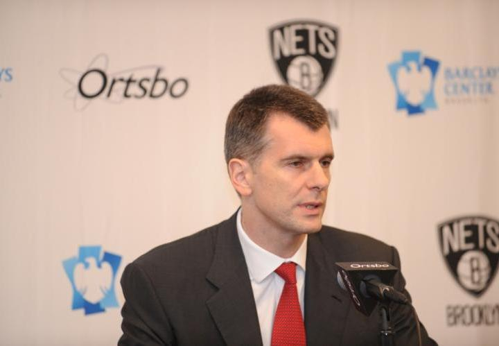 Mikhail Prokhorov - JENNIFER POTTHEISER/GETTY IMAGES