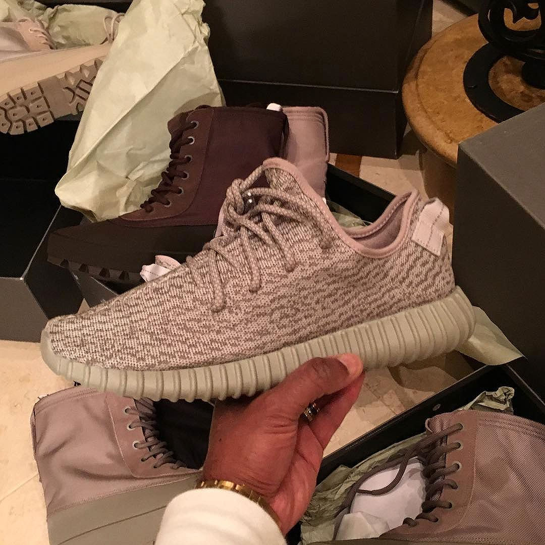 the latest 8e022 1efa1 ... get don c showed off his adidas yeezy boost 350 moonrock def pen a76c5  12990