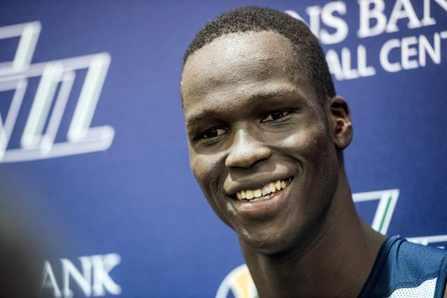 Thon Maker - Chris Detrick | The Salt Lake Tribune
