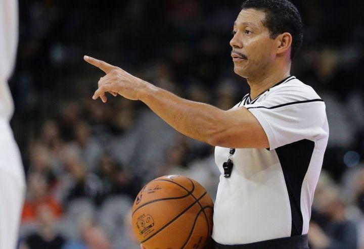 NBA Referees - Eric Gay/AP Photo