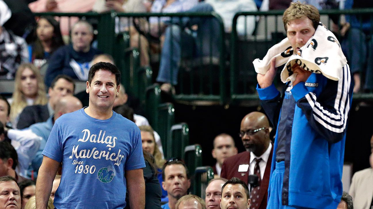 Image result for mark cuban and dirk nowitzki