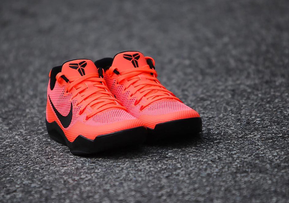 10a86e6894dc ... UPDATE Here are official pictures for the upcoming Nike Kobe 11  Barcelona aka Bright Mango which ...
