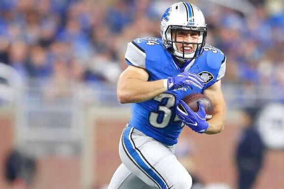 more photos 334cc cc31c Lions RB Zach Zenner Making Most Of Opportunities - Vendetta ...