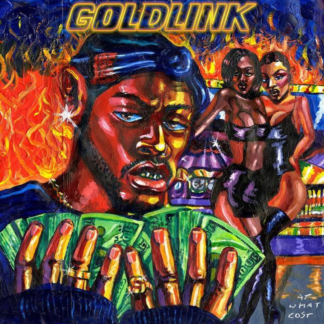 GoldLink - At What Cost (Album Cover)