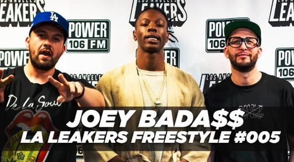 Joey Bada$$ L.A. Leakers (Power 106)