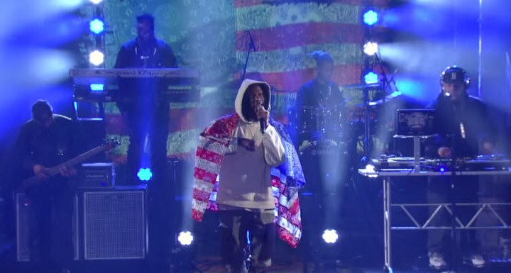 Joey Badass Land Of The Free The Late Show with Stephen Colbert